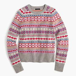 Holly sweater in Fair Isle