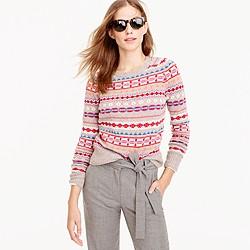Holly sweater in Fair Isle