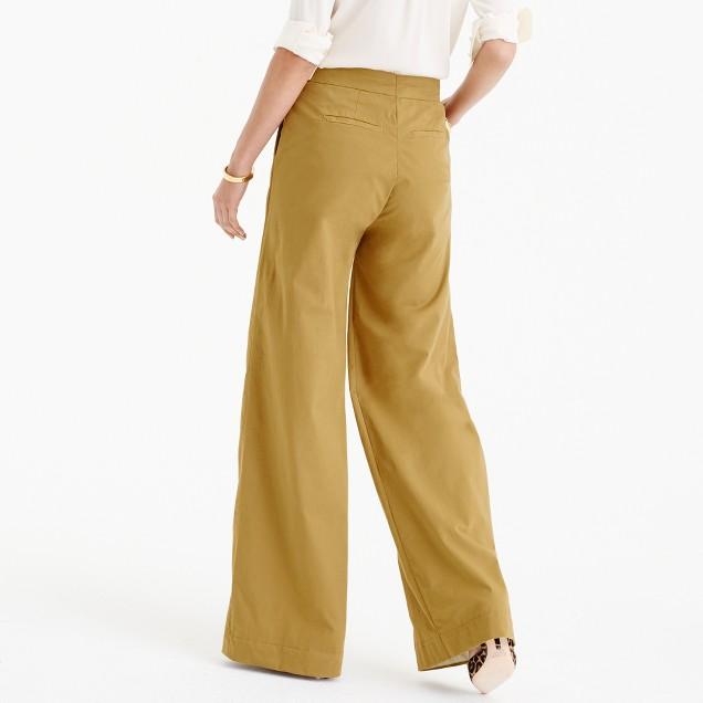 Ultra Wide-Leg Chino Pant : Women's Chino Pants | J.Crew