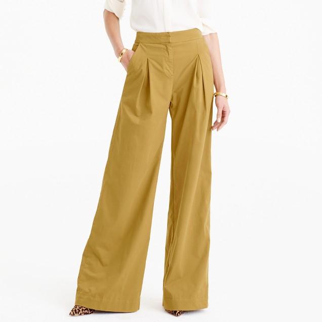 Ultra wide-leg chino pant