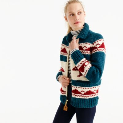 Canadian Sweater Company™ bear cardigan sweater