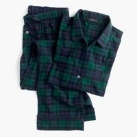 Petite Black Watch flannel pajama set