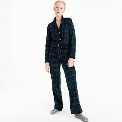 Black Watch flannel pajama set