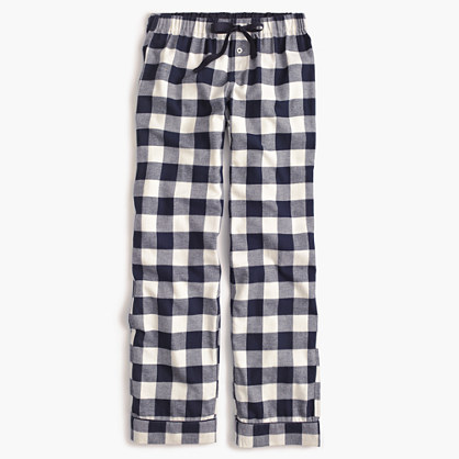 Buffalo check pajama pant