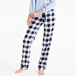 Buffalo check pajama pant