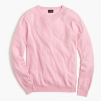 Lightweight Italian cashmere crewneck sweater