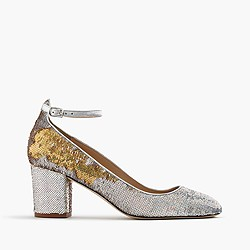Sophia pumps in sequin