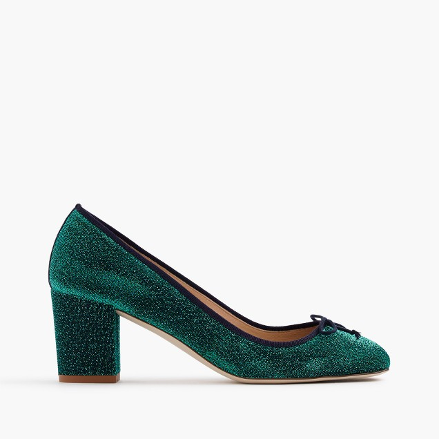 Sophia pumps in glitter