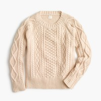 Boys' cable-knit sweater