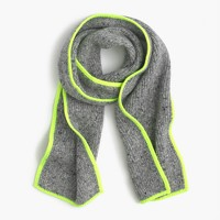 Kids' speckled Donegal wool scarf