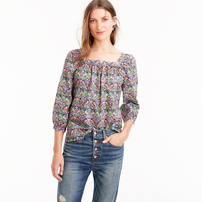 Penny top in Liberty® strawberry thief