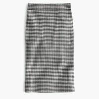 Pencil skirt in Italian confetti houndstooth