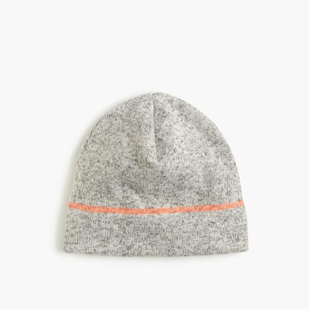Kids' heather fleece beanie hat