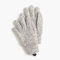 Kids' heather fleece gloves