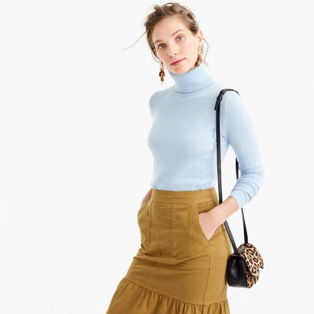 Italian cashmere classic turtleneck