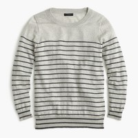 Tippi sweater in metallic stripe