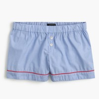 Tipped pajama short