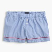 Tipped pajama short