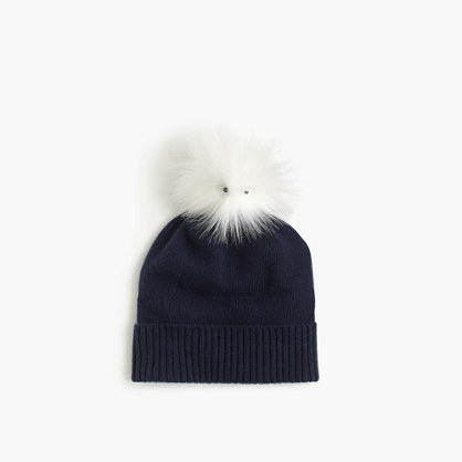 Girls' Max the Monster fuzzy beanie hat