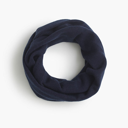 Girls' solid infinity scarf