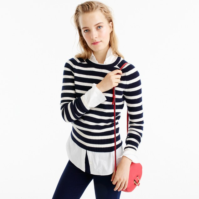 Striped Holly sweater