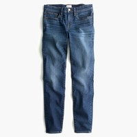 "8"" Toothpick jean in Ashford wash"