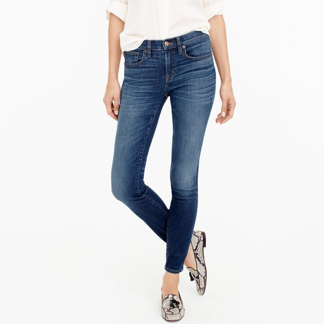 "Tall 8"" toothpick jean in Ashford wash"