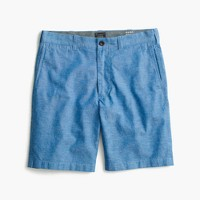 "9"" short in chambray"