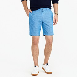 """9"""" short in chambray"""
