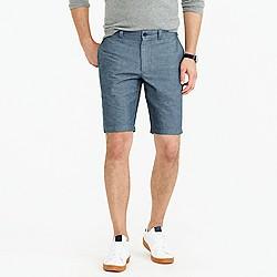 "10.5"" short in cotton-linen"
