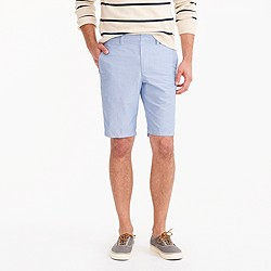"""10.5"""" solid oxford short"""
