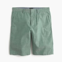 "10.5"" short in rugby green chambray"