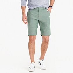 """10.5"""" short in rugby green chambray"""
