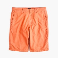 "10.5"" solid oxford short in ripe orange"