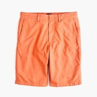 """10.5"""" solid oxford short in ripe orange"""