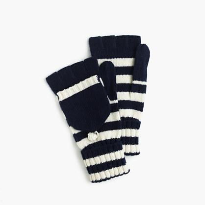 Striped glittens