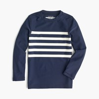 Boys' striped rash guard