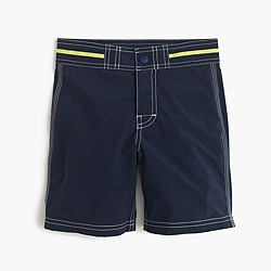 Boys' snap-front board short