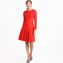 Pre-order Petitepleated ponte dress