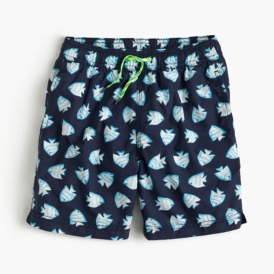 Boys' swim trunk in glowfish