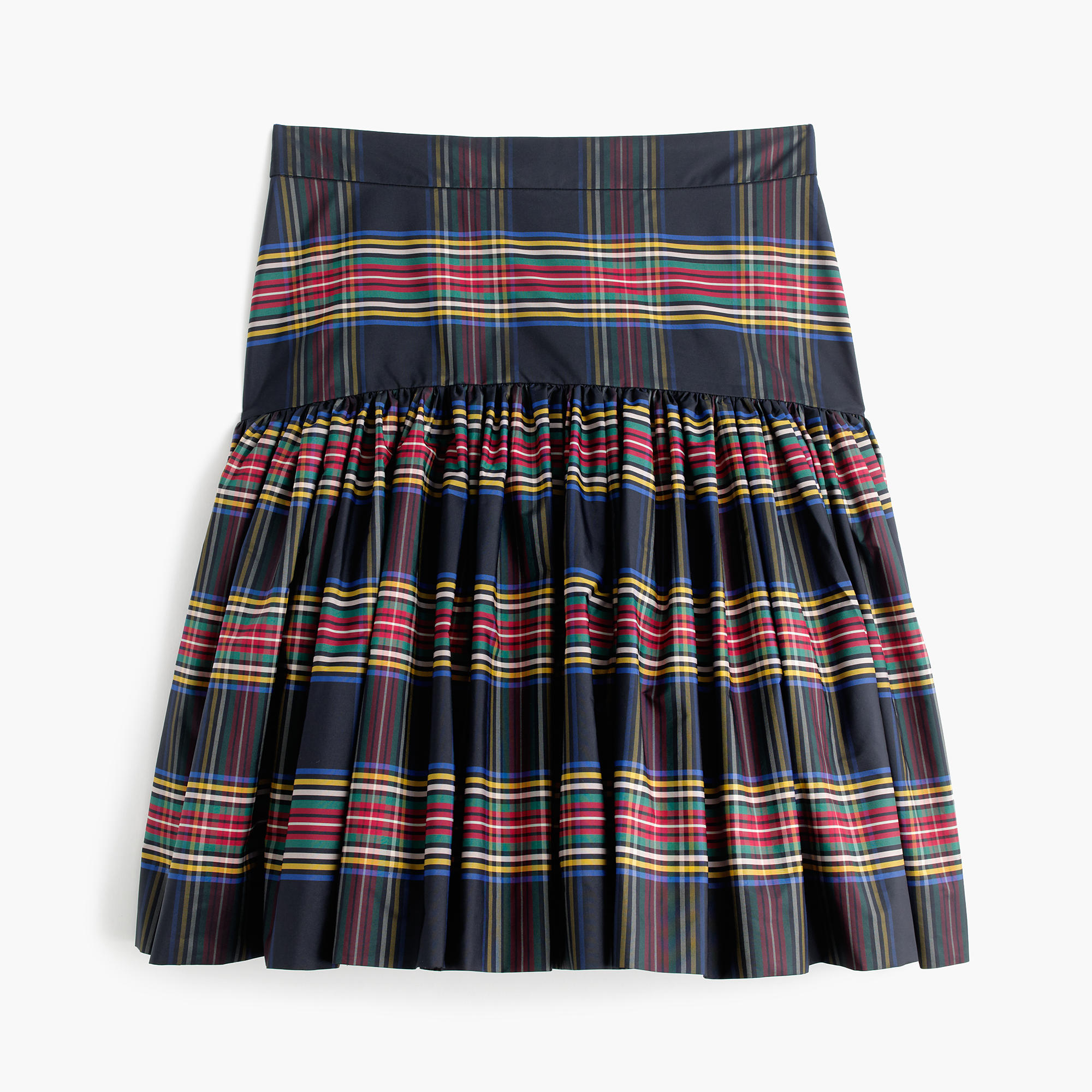 Taffeta Skirt In Stewart Plaid : Women's Skirts | J.Crew