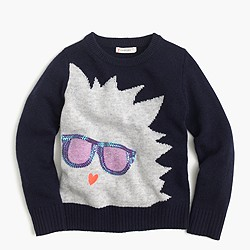 Girls' Max the Monster popover sweater