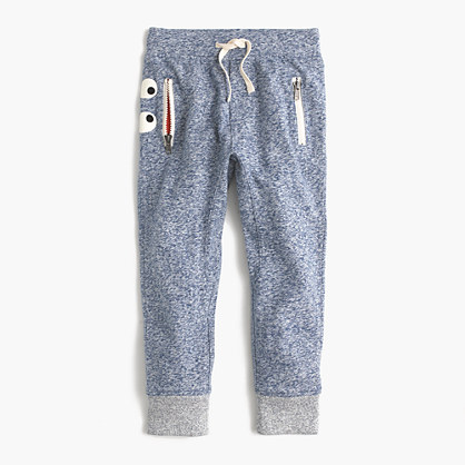 Pre-order Boys' heathered slim glow-in-the-dark jogger in Max the Monster