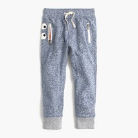 Kids' heathered glow-in-the-dark Max the Monster sweatpant in slim fit