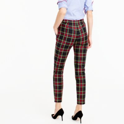 Martie Pant In Stewart Plaid Bi-Stretch Wool : Women's Pants | J.Crew