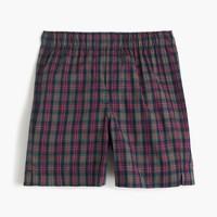 Boys' check boxers