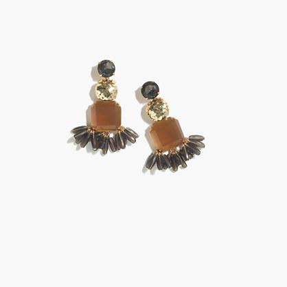 Mixed crystal earrings