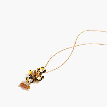 Floral jumble pendant