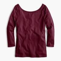 Scoopback ballet T-shirt
