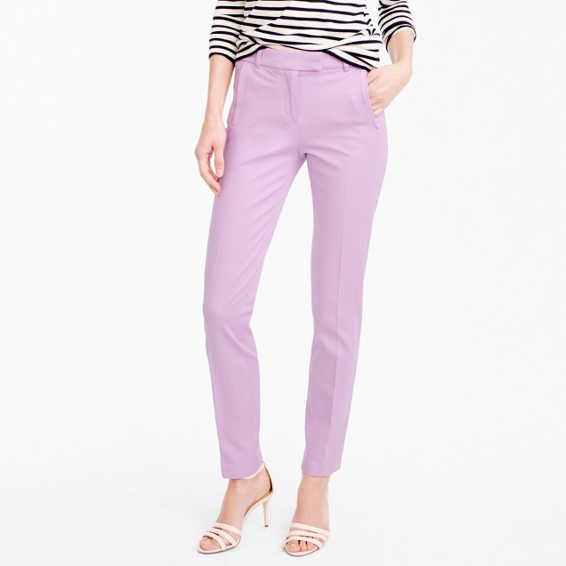 Maddie pant in bi-stretch cotton